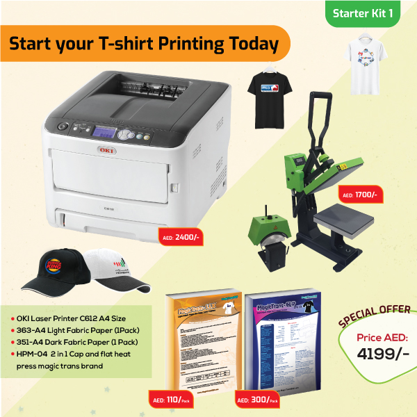 Tshirt Printing Business Starter Kit 1