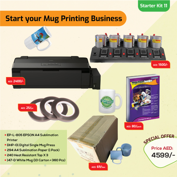 Mugs Printing Business Starter Kit 11