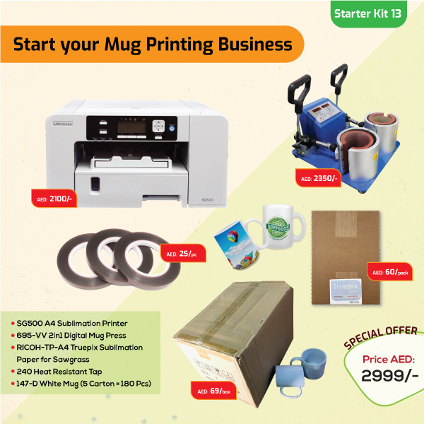 Mugs Printing Business Starter Kit 13