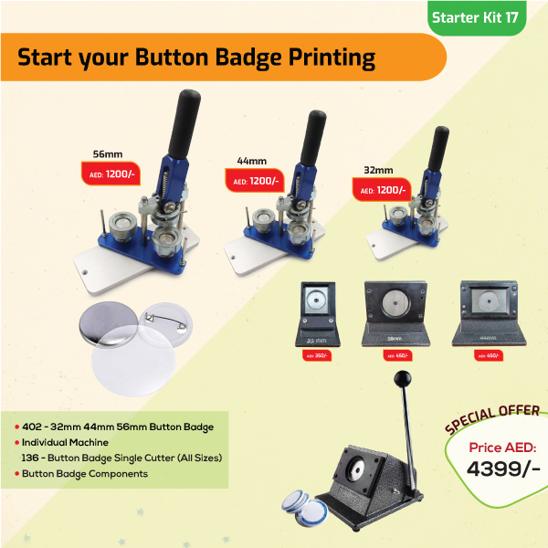 Button Badge Printing Business Starter Kit 17