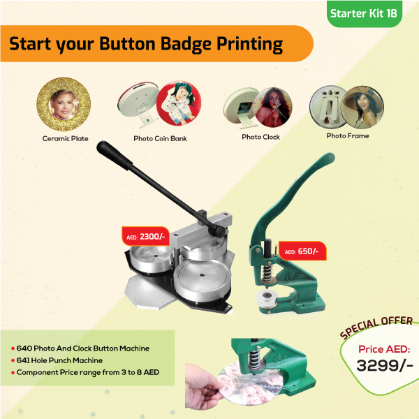 Button Badge Printing Business Starter Kit 18