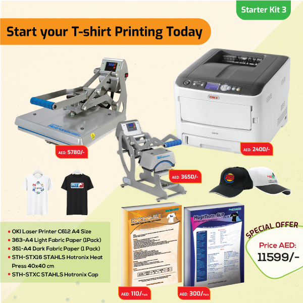 Tshirt Printing Business Starter Kit 3