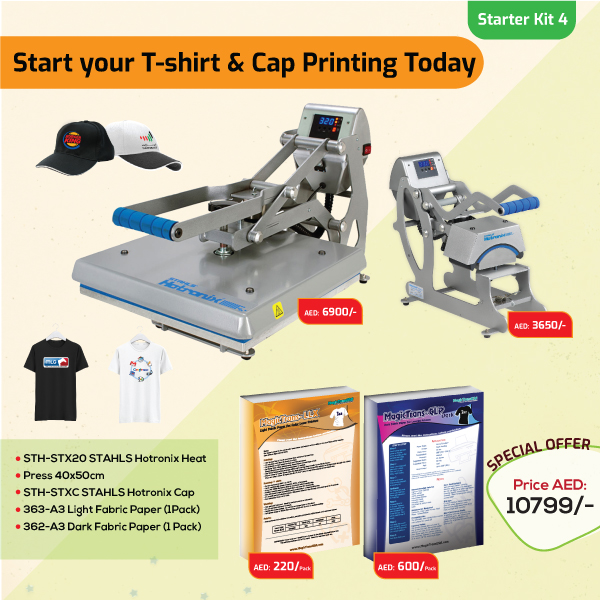 Tshirt and Cap Printing Business Starter Kit 4