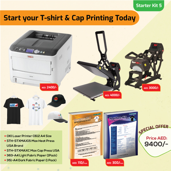 Tshirt and Cap Printing Business Starter Kit 5
