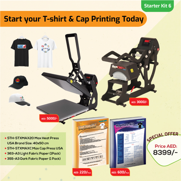 Tshirt and Cap Printing Business Starter Kit 6