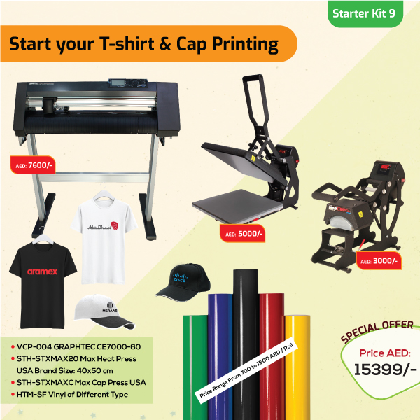 Tshirt and Cap Printing Business Starter Kit 9