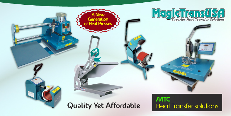 MagicTransUSA Heat Press Banner