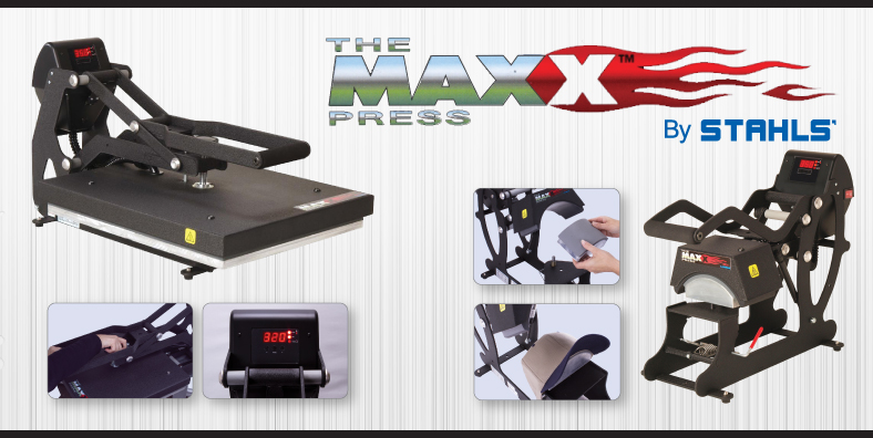 Stahls Maxx Heat Press Banner