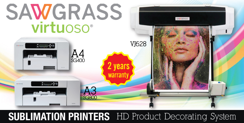 Sawgrass Sublimation Printer Banner