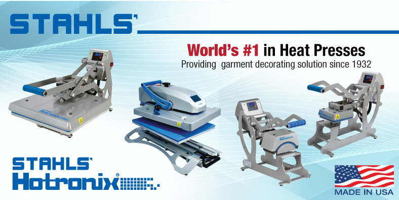 Stahls heat press banner
