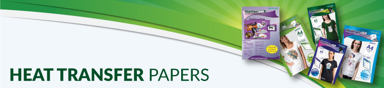 Heat Transfer Papers Banner