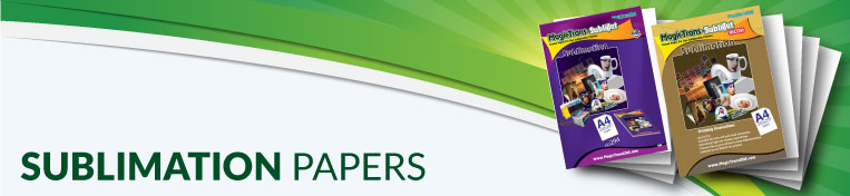 Sublimation Transfer Papers Banner