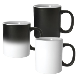 11 oz Color Changing Mugs 167-BK-M