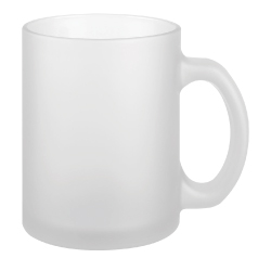 11 oz Frosted Glass Mug 158-F