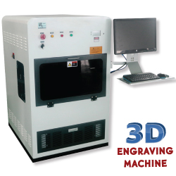 3D Crystal Engraving Machine