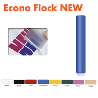 Econo Flock  New, Flock Vinyls, Flock heat transfer materials