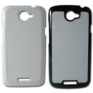 3D HTC 1S Covers in Black and White Color