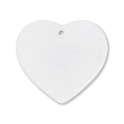 Heart Shaped Ceramic Ornament 241