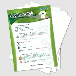 Light Fabric Transfer Papers for Inkjet Printer