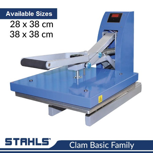 Clam Basic Family Heat Press