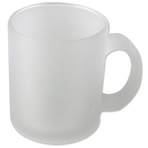 Frosted Glass Mugs   158F