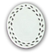 Oval Shaped Ceramic