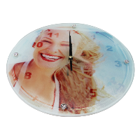 Round Crystal Clock