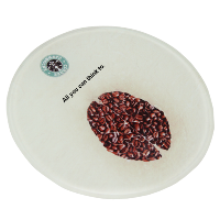 Round Crystal Tea Coaster