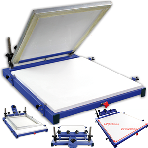 1 Color 1 Station Adjustable Screen Printing Machines