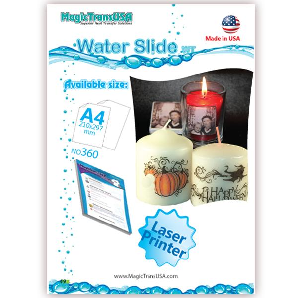A4 Water Slide Papers, Decal Paper, Laser Transfer Papers, Laser