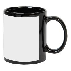 11 oz Black Mug with Printable Area 172