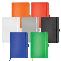 A5 Size Leatherette Hard Cover Notebook MB-05-LP