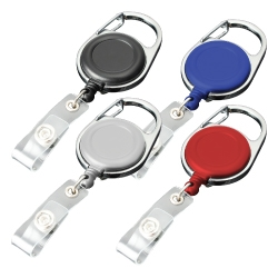 Carabiner Reel Badges 127