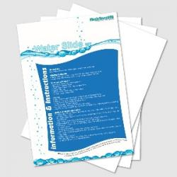 Water Slide Decal Transfer Papers A4 360