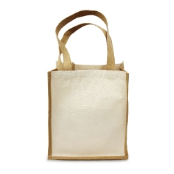 Jute Bags Two Side Cotton JSB-09
