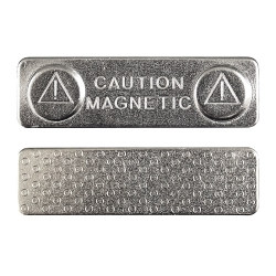 Rectangle Metal Magnet 2016-A