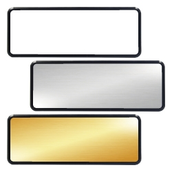 Reusable Name Badges INB-12