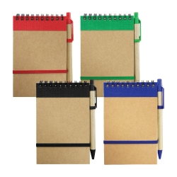 Recycled Notepad with Pen RNP-04