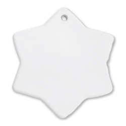 Snowflake Ceramic Ornaments 247