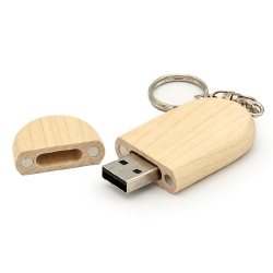 Wooden Key Holder USB Flash 13