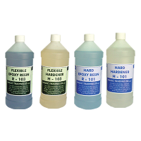 Hard Epoxy and Flexible Epoxy
