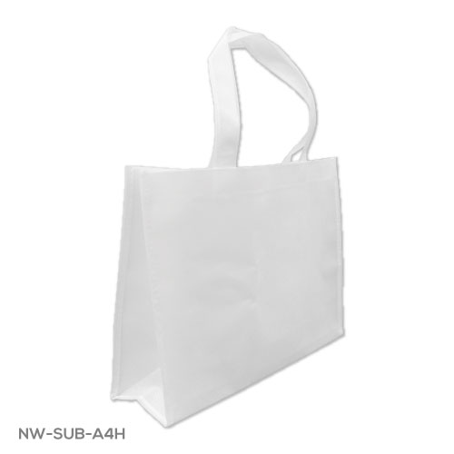 A4 White Sublimation Bags NW-SUB