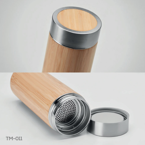 Promotional Bamboo Flask TM-011