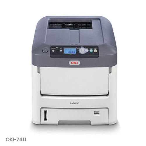 OKI Pro7411WT A4 White Toner Printer