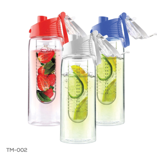 Water Bottle with Fruit Infuser TM-002