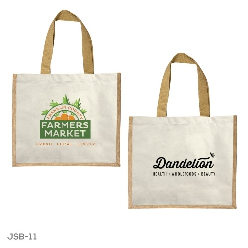 Branding Jute and Cotton Shopping Bags JSB-11