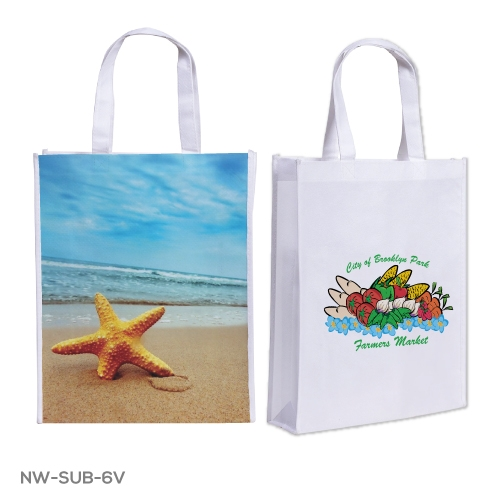 Branding Non Woven Sublimation Bags NW-SUB-6V