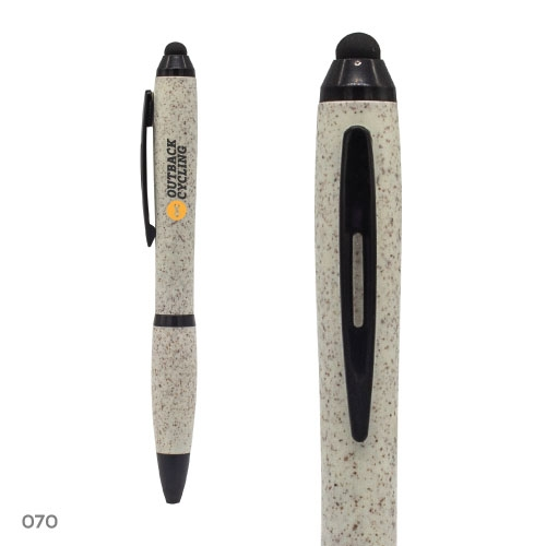 Wheat Straw Pens with Stylus 070