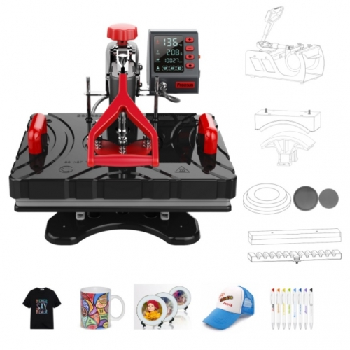 11 in 1 Combo Heat Press Machines 700