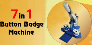 7 in 1 Button Badge Maker